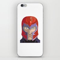 magneto iPhone & iPod Skins featuring Magneto by Jconner