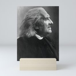 Franz Liszt Profile Picture Mini Art Print