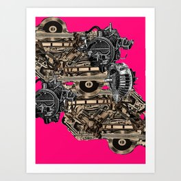 machine works Art Print