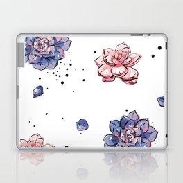 Succulents seamless pattern Laptop & iPad Skin