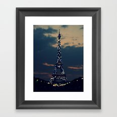 Beacon (Eiffel Tower) Framed Art Print