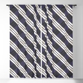 Static Movement (Patterns Please) Blackout Curtain