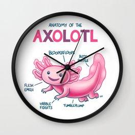 Anatomy of the Axolotl Wall Clock