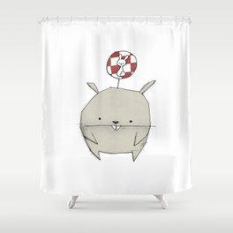 minima - rawr 02 Shower Curtain