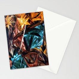 Rayonist Lillies by Natalia Goncharova Stationery Cards
