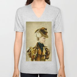Edith Cushing Unisex V-Neck