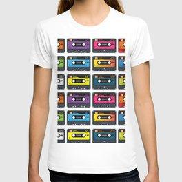 Vintage audio tape T-shirt