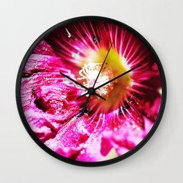 Musk Mallow Wall Clock