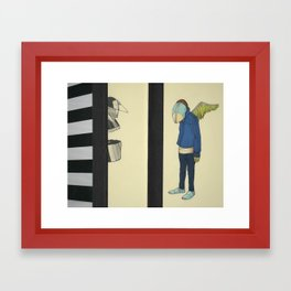 In Defense Of Whatever Framed Art Print