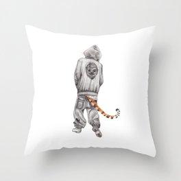 Fierce Attitude Throw Pillow