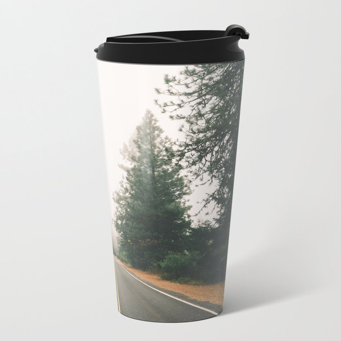 Follow the Road Metal Travel Mug