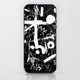 composition n°2 négatif - mathéo iPhone Skin