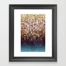 Glitteresques XIV Framed Art Print