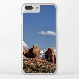 Between Two Worlds - Arches National Park Clear iPhone Case