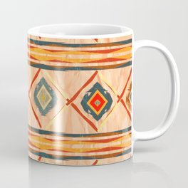 Southwestern Motif in Beige Coffee Mug