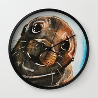 seal Wall Clocks featuring Seal by tsquared91