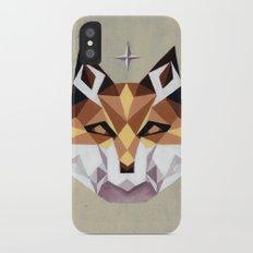 Geometric Fox Slim Case iPhone X