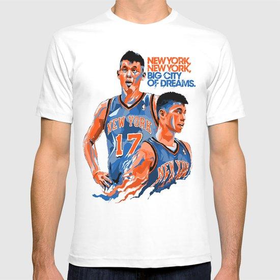 Jeremy Lin: New York, New York, Big City of Dreams. T-shirt