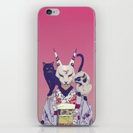 Neko Lady iPhone Skin