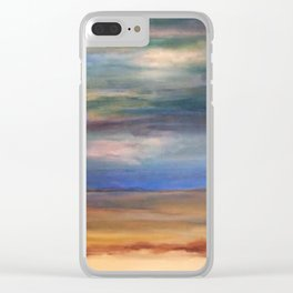 Double Setting Sun Clear iPhone Case