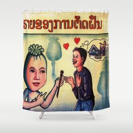 The Opium Eater Shower Curtain