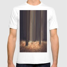 A Quiet Place White Mens Fitted Tee MEDIUM