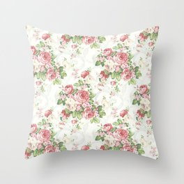 SOUTHERN BELLE FLORAL  Throw Pillow