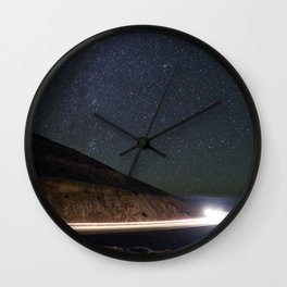 Night Traveler Wall Clock
