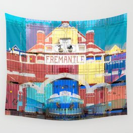 Fremantle Markets Wall Tapestry