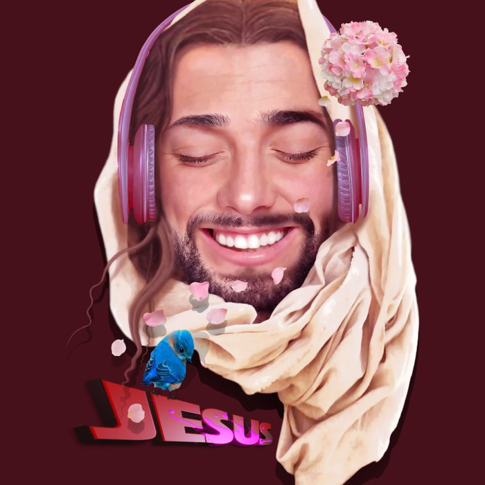 Young Jesus Duvet Cover
