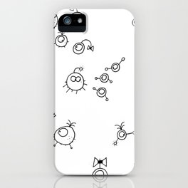 Munnen - Say hello iPhone Case
