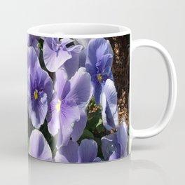 Viola Blue Floral Coffee Mug