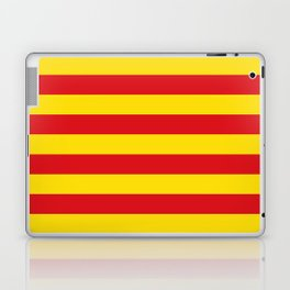 Catalan Flag - Senyera - Authentic High Quality Laptop & iPad Skin