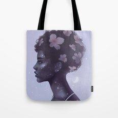 Moonlight lady Tote Bag