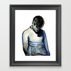 Blueboy Framed Art Print