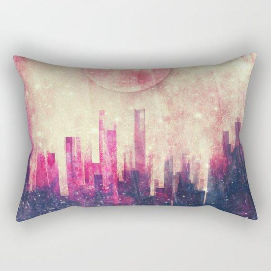 Mysterious city Rectangular Pillow