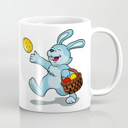 rabbit with Easter basket Coffee Mug