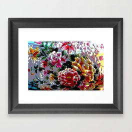 Stitched Up! Framed Art Print