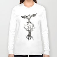 fly Long Sleeve T-shirts featuring Fly  by Rafapasta