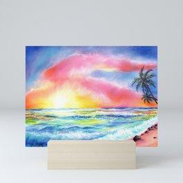 Magical Kauai Sunset Mini Art Print