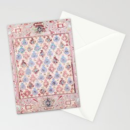 North Indian Dhurrie Kilim Print Stationery Cards