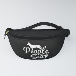 """I Love My Berger Picard - """"People Suck"""" Fanny Pack"""