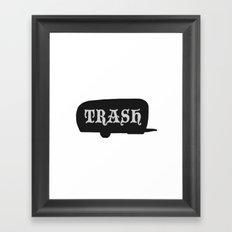 Trailer Trash 2 Framed Art Print