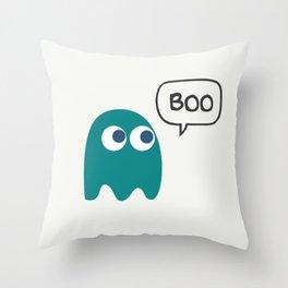 Little ghost Throw Pillow