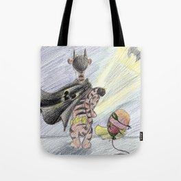 Battigger and Roballoon Tote Bag