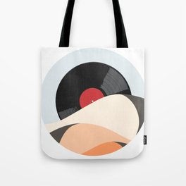 Follow the music. Tote Bag