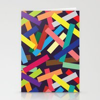 confetti Stationery Cards featuring Confetti by Joe Van Wetering