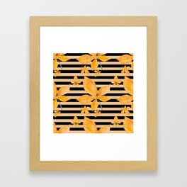 Autumn leaves #14 Framed Art Print