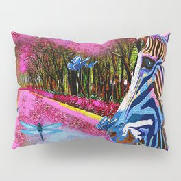 ZEBRA ENCOUNTER GOOD MORNING MY FRIENDS Pillow Sham