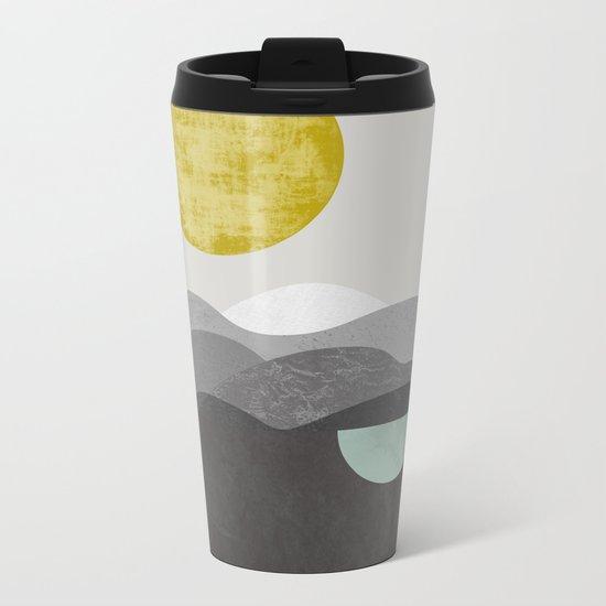 Dunes Metal Travel Mug